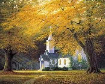 52411 Церковь в горной долине
