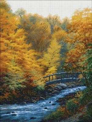 52417 Осенний поток