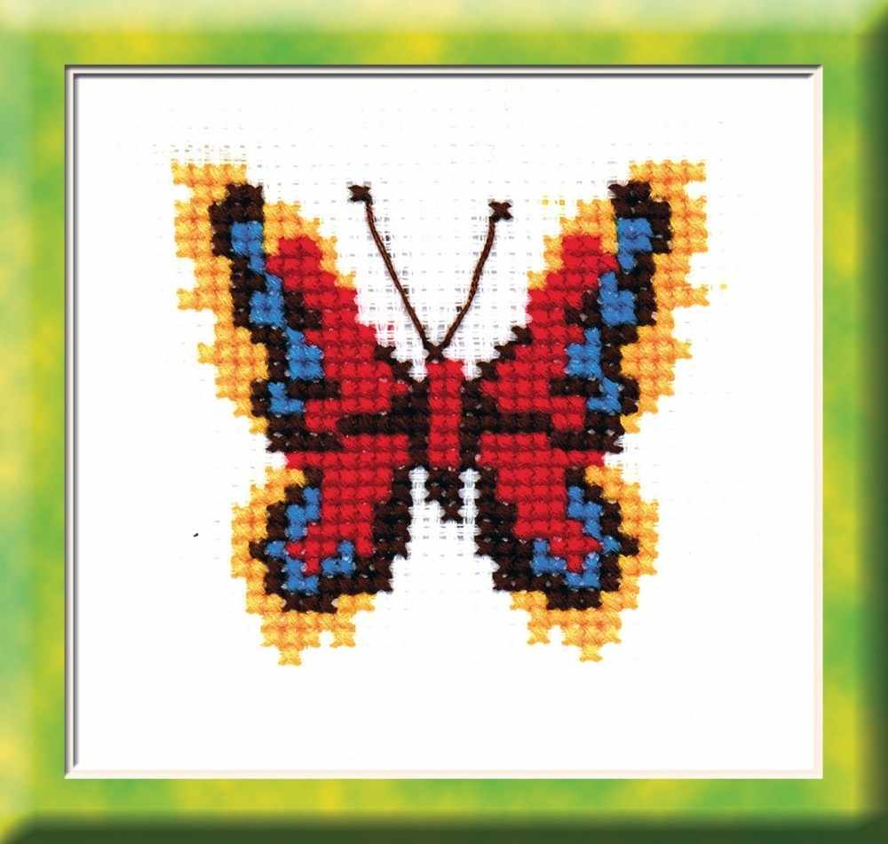 "530 ""Бабочка красно-желтая"""
