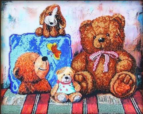 56018 Плюшевые медведи 1