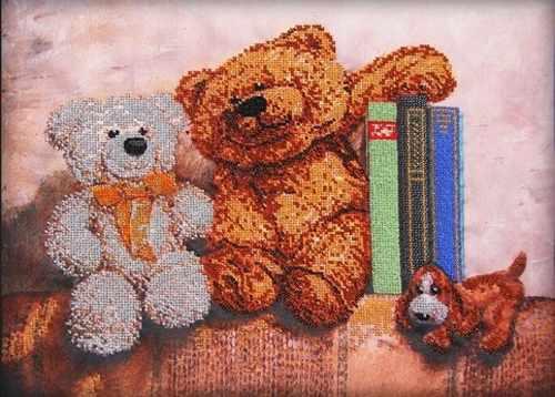 56019 Плюшевые медведи 2