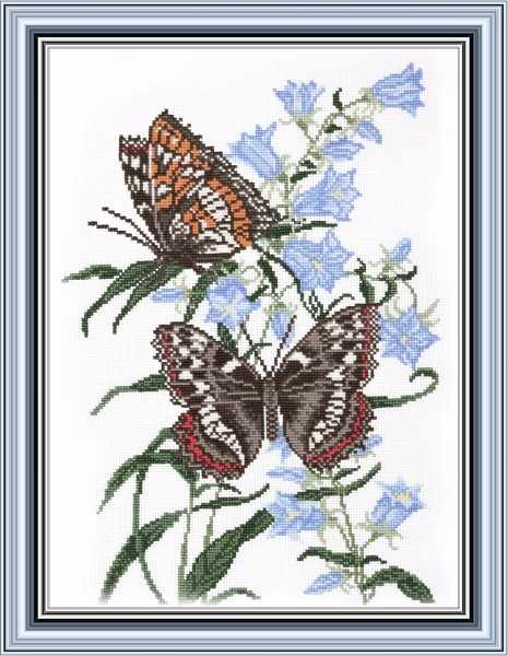 573 Бабочка на колокольчике (Овен)