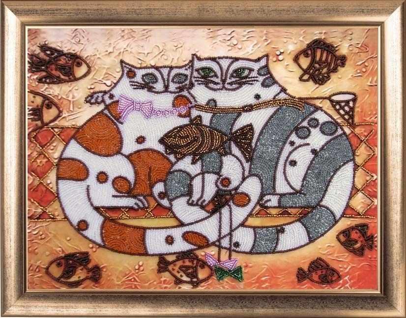 574 Кошачья идиллия - Butterfly