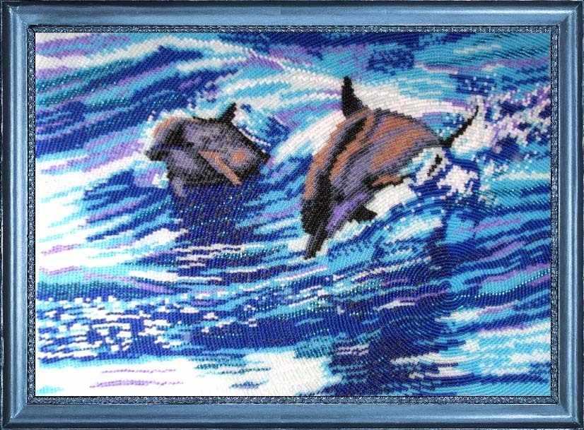 578 Дельфины - Butterfly