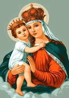 582 Святая дева с младенцем