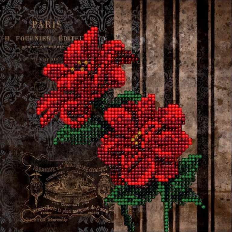 60116 Цветы 6 (КТ)