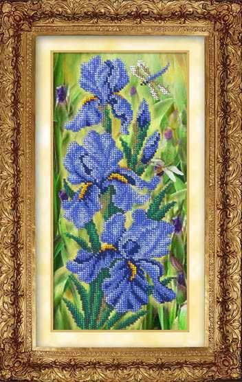 601 - Синие ирисы (РИ)