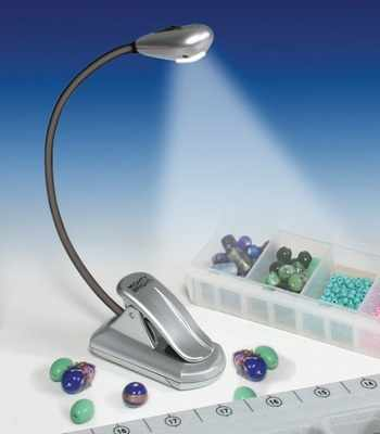 60432 Мини-лампа для рукоделия (серебристая)
