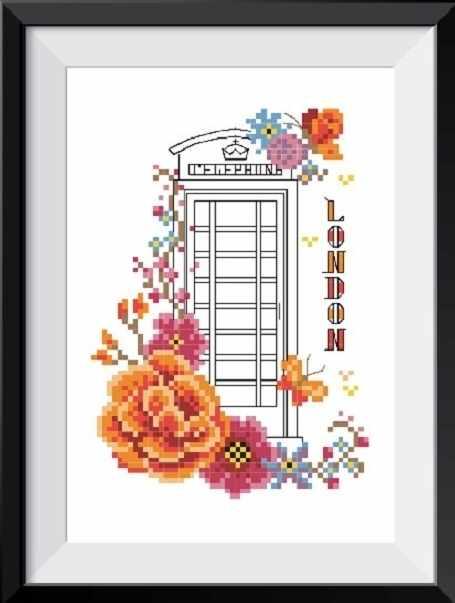 6062 Лондон - набор для вышивания (МП)