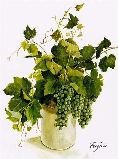 606 Зеленый виноград