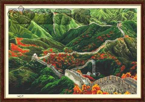 """61001 """"Китайская стена осенью"""" (DOME)"""