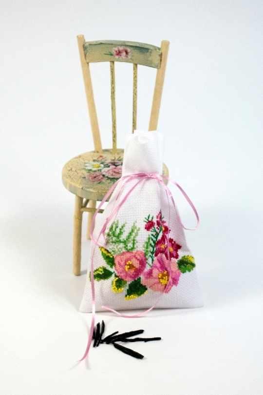 6111 Мешочек для ароматов Блюз- набор для вышивания (МП)