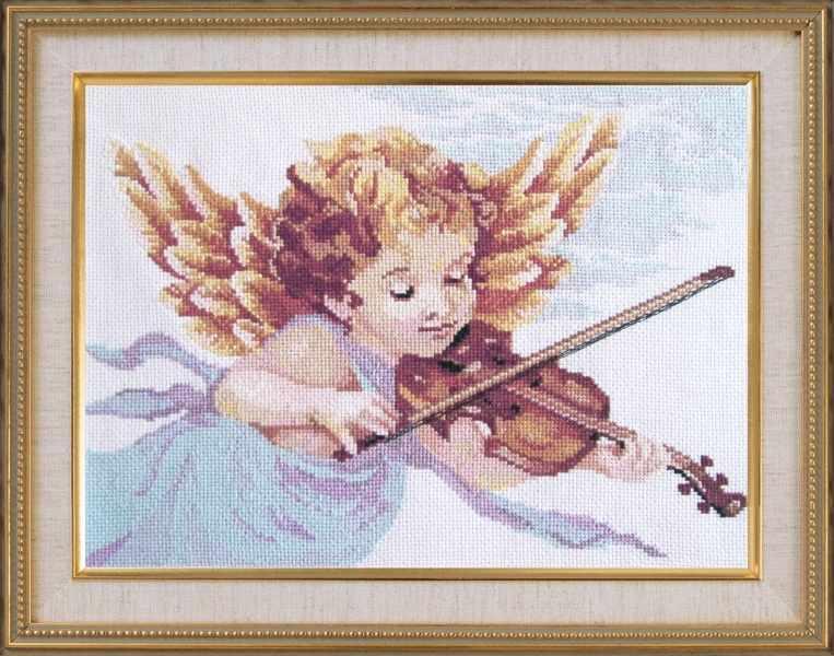 619 Ангел со скрипкой (Овен)