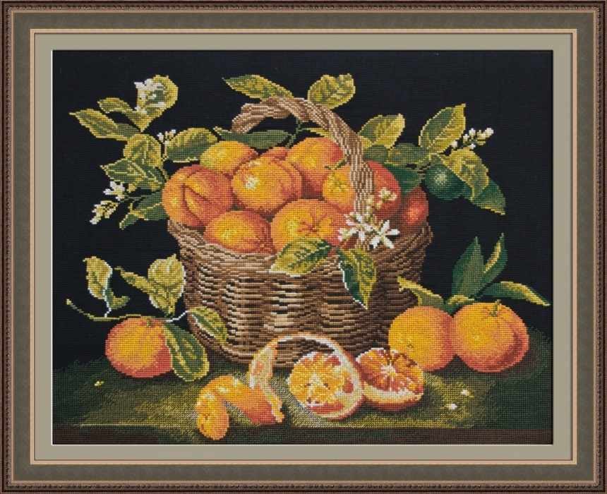 626 Корзина мандаринов (Овен)