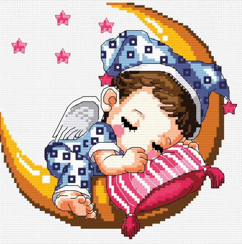 659-14 Спящий малыш (Белоснежка)