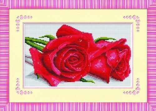 68063 Валентинка с красными розами (Honey home)