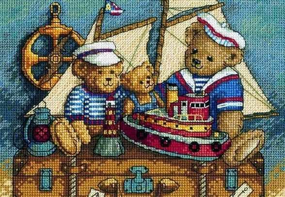 6994-DMS Мишки, на палубу!