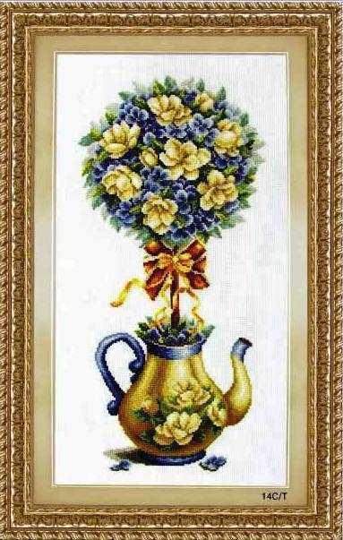 """70302 """"The magnolia pot"""" (DOME)"""