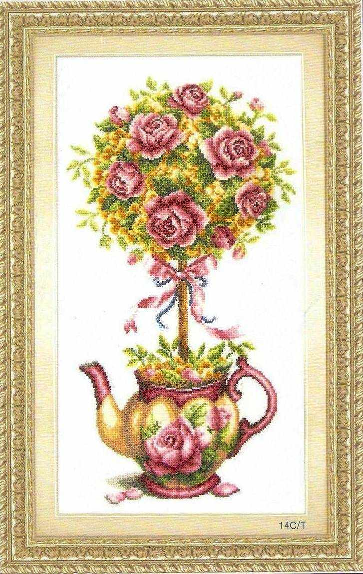 """70303 """"The rose pot"""" (DOME)"""