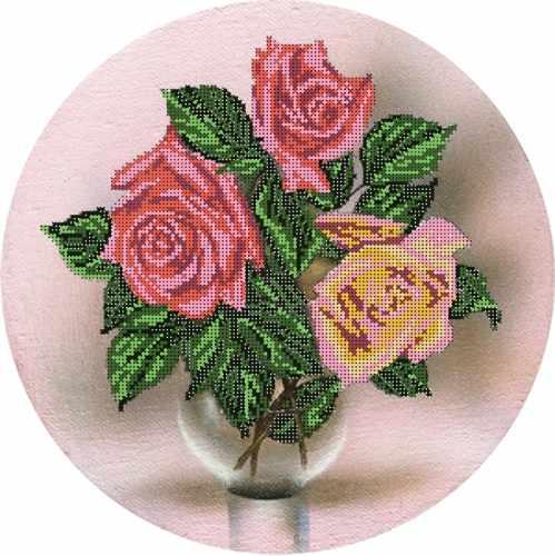 70307 Розы на холсте