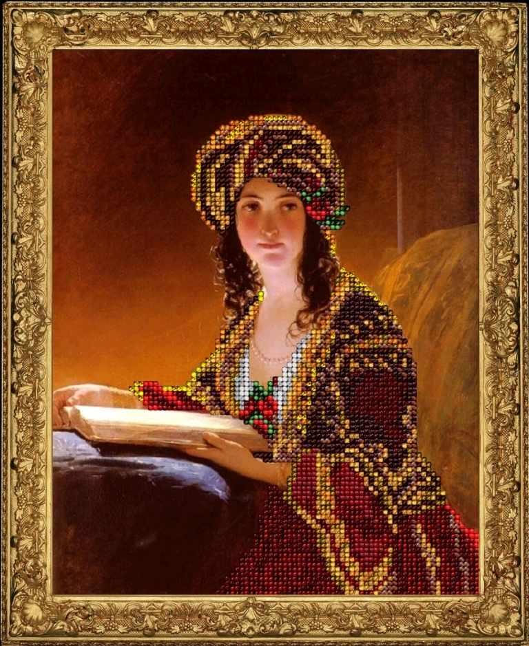 70815 Девушка с книгой (КТ)