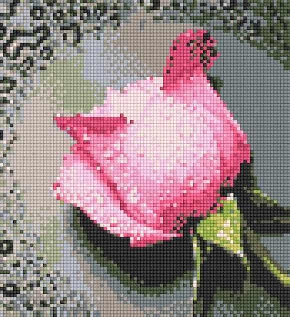 71003,10 Чудесная роза - мозаика Anya