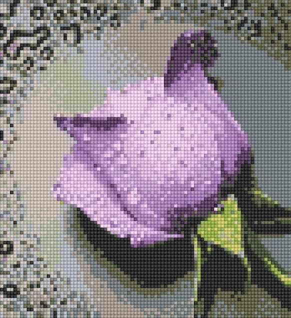 71003,11 Прекрасная роза - мозаика Anya