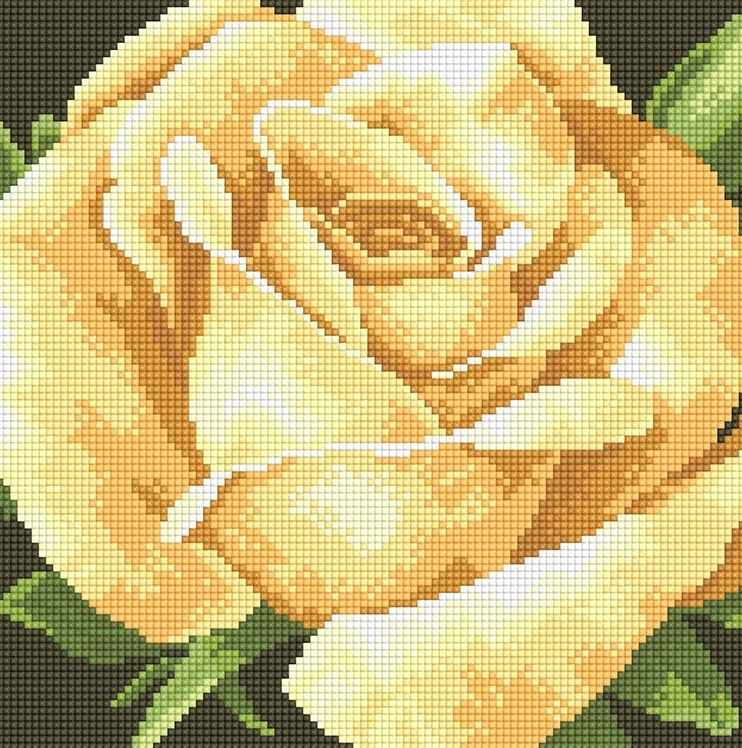 71003,31 Роскошная роза - мозаика Anya