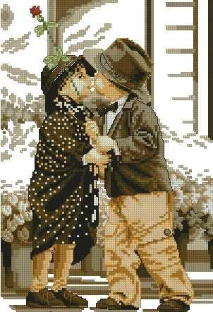 71024,21 Первое свидание - мозаика Anya