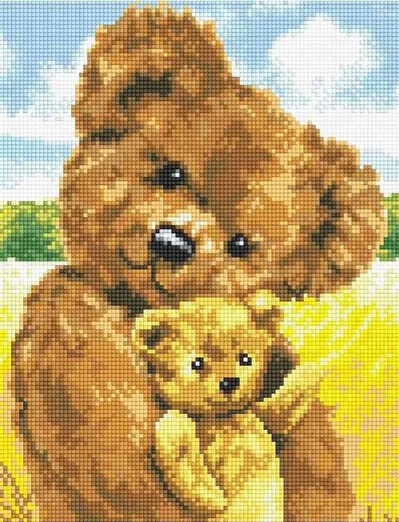 71035,51 Плюшевые мишки - мозаика Anya