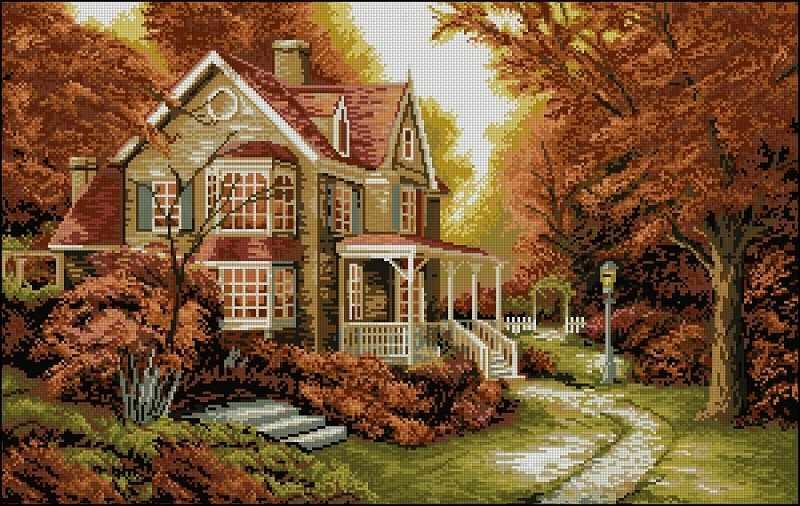 7105 мозаика (Honey home)