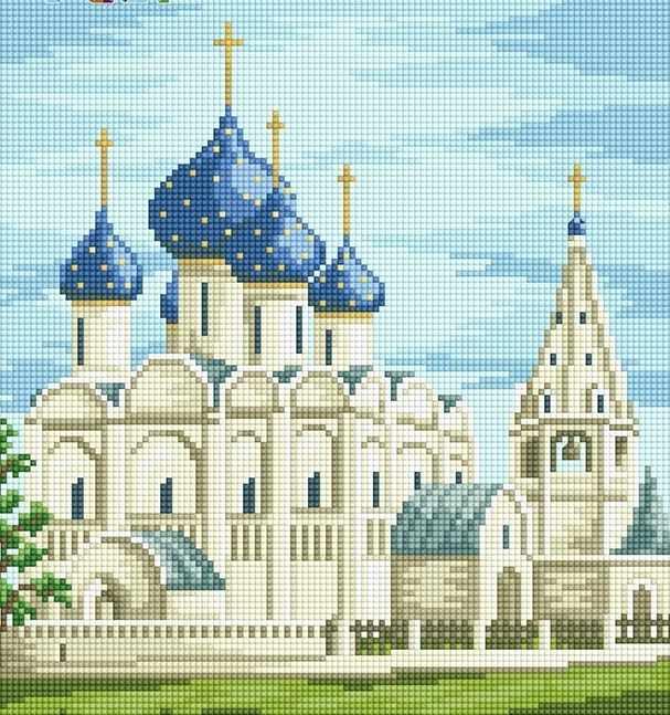 71063,11 Церковь - мозаика Anya