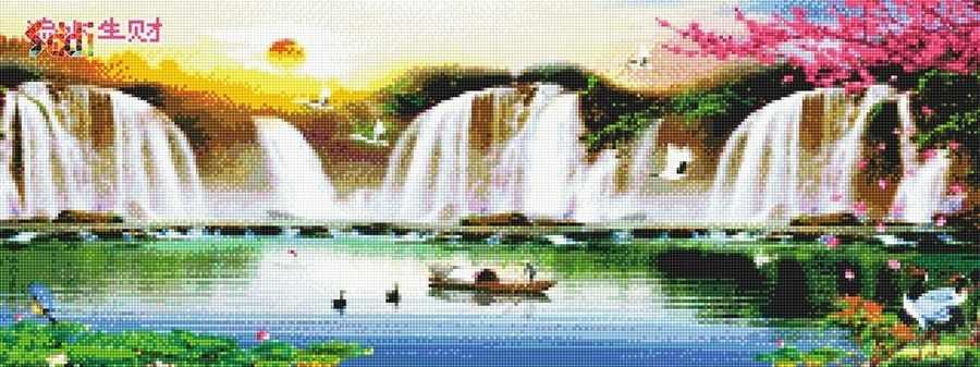 71067,16 Водопады - мозаика Anya