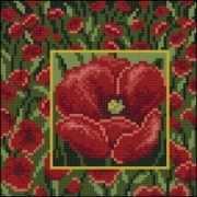 71085,57 Маки - мозаика Anya