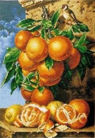 710AY-69 Мандарины - мозаика Anya