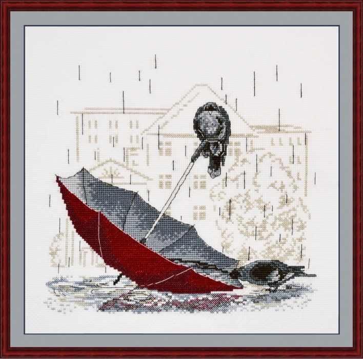 718 Грустный зонтик (Овен)
