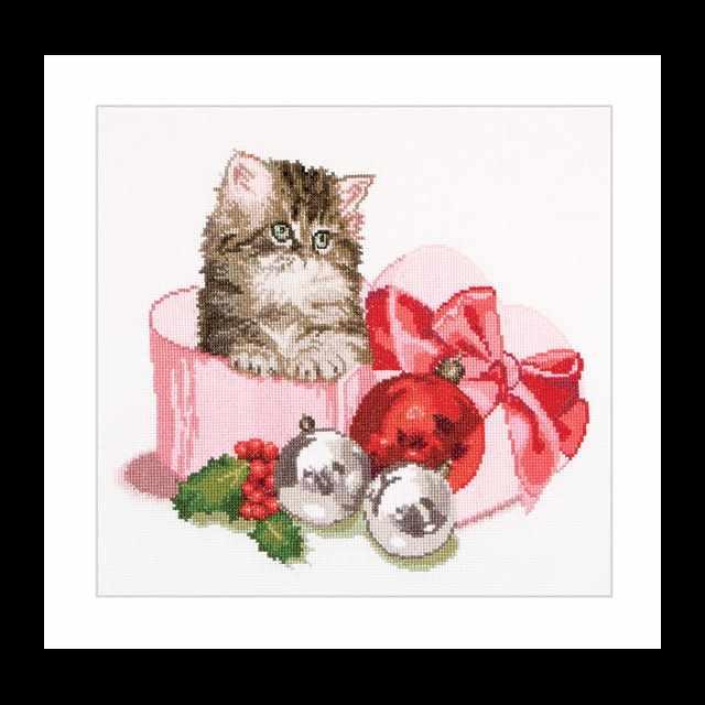 731A Рождественский котёнок
