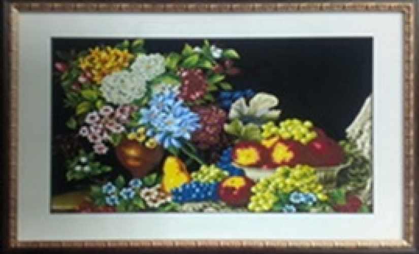 7453 Цветы - мозаика Милато