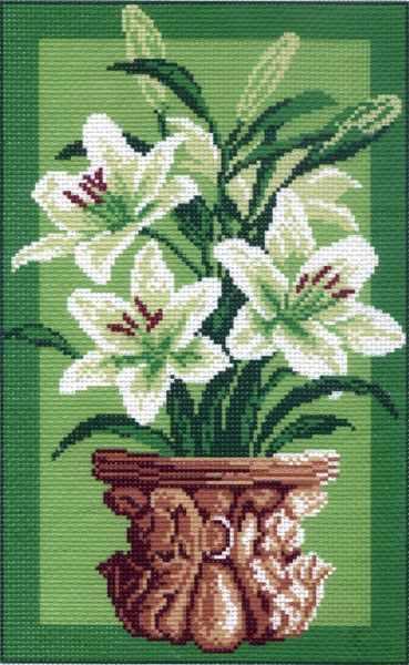 745 Белые лилии (МП)