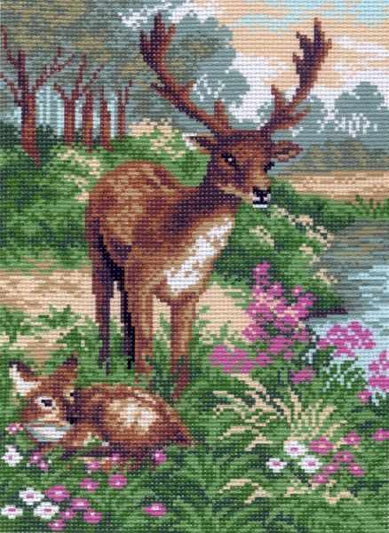 752 Семья оленей (МП)