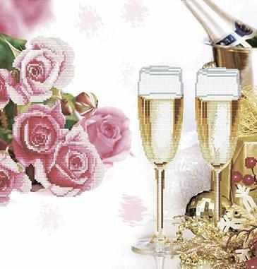 80084-1 Брызги шампанского - 1 (Honey home)
