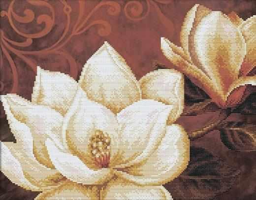 80181 Белые цветы (Honey home)