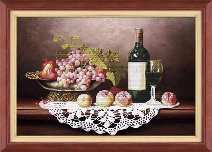 80261 Натюрморт с виноградом (Honey home)
