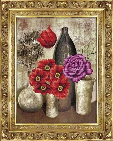 80273-1 Цветы в вазах (Honey home)