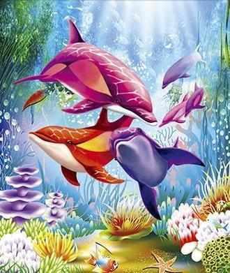 80335 Цветные дельфины (Honey home)