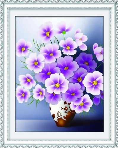 80362 Фиолетовый букет (Honey home)