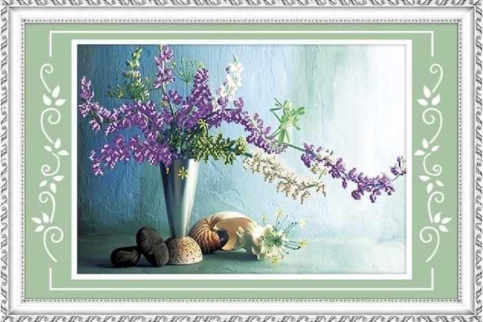 80436-1 Цветы и ракушки (Honey home)