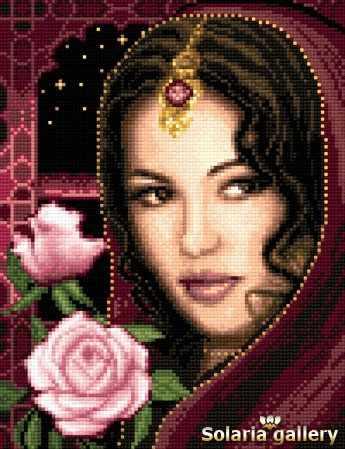 8111-33 Девушка из Альгамбры