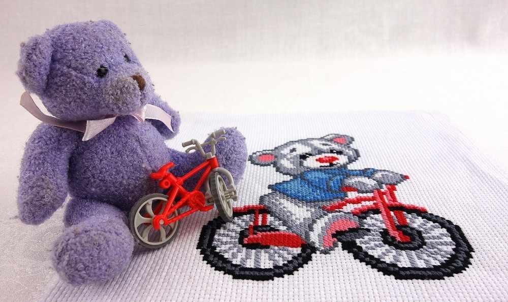 """823 """"Мишка на велосипеде"""""""
