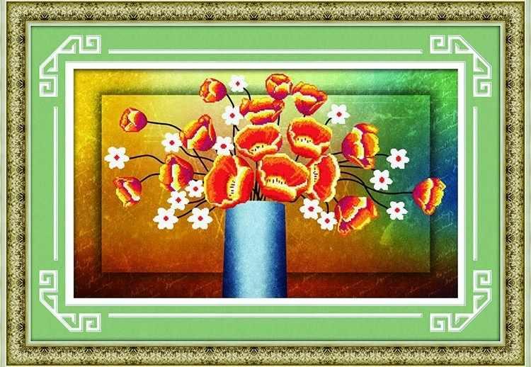 8307 Нежный букет - мозаика Anya